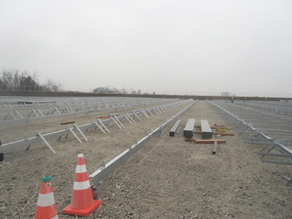 太陽光メガソーラ工事の様子10