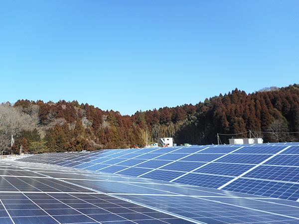 太陽光メガソーラ工事の様子15